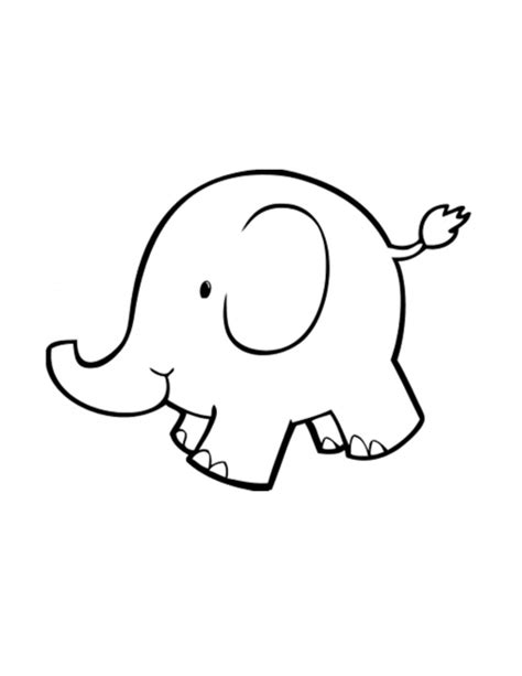 elephant tattoo clipart baby elephant outline digital download clipart art clip