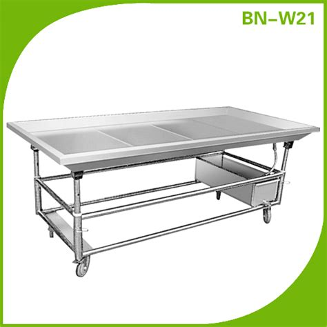 stainless steel fish cleaning table cosbao stainless steel fish cleaning table sea food clean