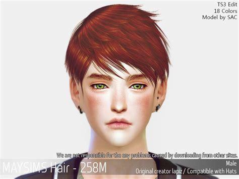 hair 258m sac at may sims 187 sims 4 updates may sims may 258m hair retextured sims 4 hairs http