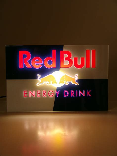 Fs Ft Red Bull Light Up Sign Sell And Trade