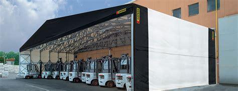 capannoni usati in pvc kopron capannoni in pvc frontali