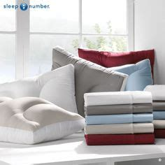 Bed Comforta Sweet introducing the sleepnumber airfit adjustable pillow in contour shape the shape helps align