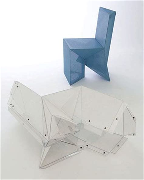 Origami Folding Furniture - 25 best ideas about origami chair on origami