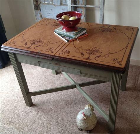 vintage enamel porcelain top kitchen table bjpg