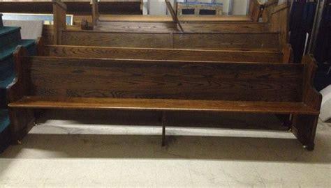 church pew furniture restorer antique oak 9 10 quot church pews vintage wooden furniture