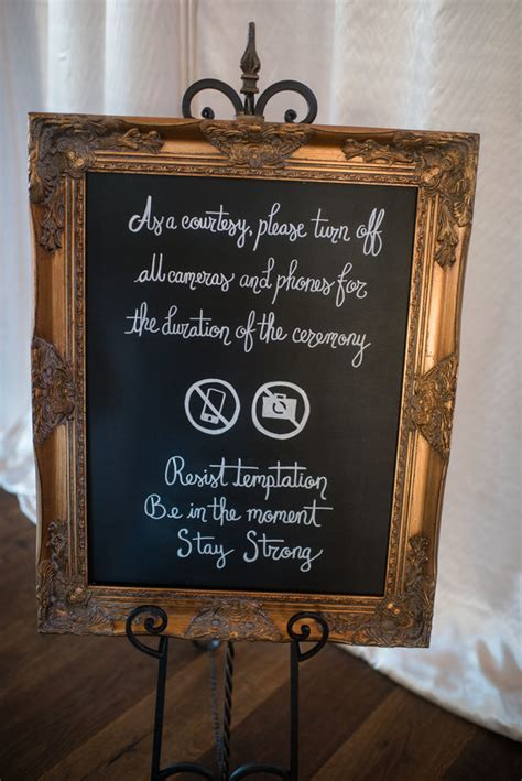 Unplugged Wedding Announcement by 13 Unplugged Wedding Signs To Remind Guests To Stay In The