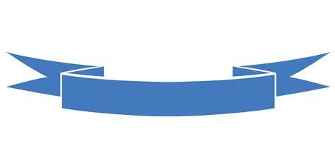 vector graphic ribbon blue celebration