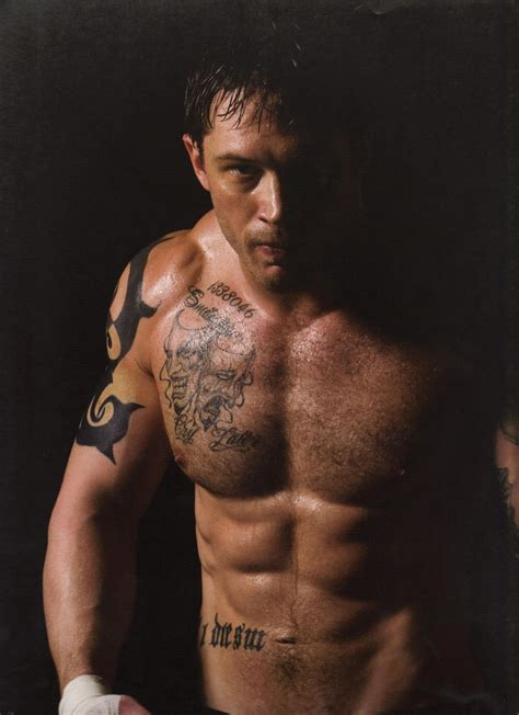 sexy male tattoos tom hardy is conlon of warrior tom hardy