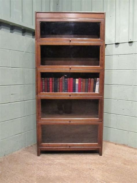 gunn sectional bookcase antique edwardian oak sectional bookcase by gunn c1900