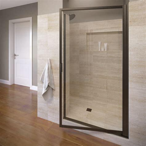 pivot swing door basco 100 10clor 36 deluxe pivot swing door with clear