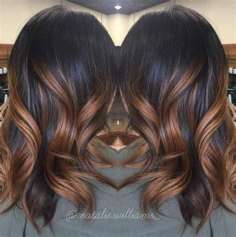 highlights at 50 50 stylish highlighted hairstyles for black hair caramel