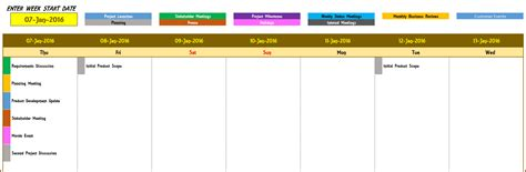 29 weekly event calendar template monthly event calendar