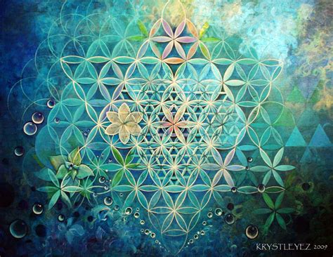 geometric pattern of the universe visionary art and sacred geometry sociedelic