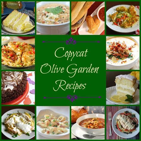 olive garden menu  olive garden copycat