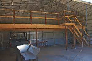 Building A Loft In Garage by Gallery For Gt Metal Building With Loft