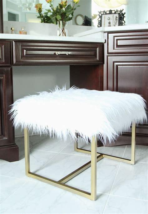 diy vanity bench 25 best ideas about vanity stool on pinterest diy stool