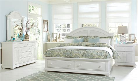 summer bedroom set summer house oyster white panel storage bedroom set from liberty 607 br qsb coleman furniture