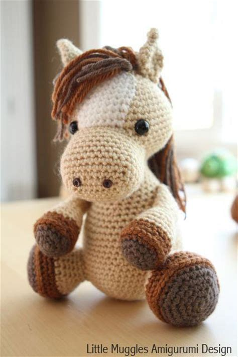 amigurumi pattern pony amigurumi pattern lucky the horse by littlemuggles craftsy