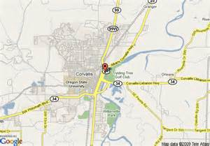 corvallis oregon map map of inn express corvallis on the river corvallis