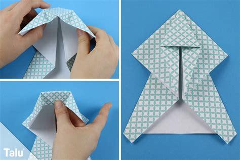 Engel Origami - origami engel falten anleitung f 252 r einen faltengel aus