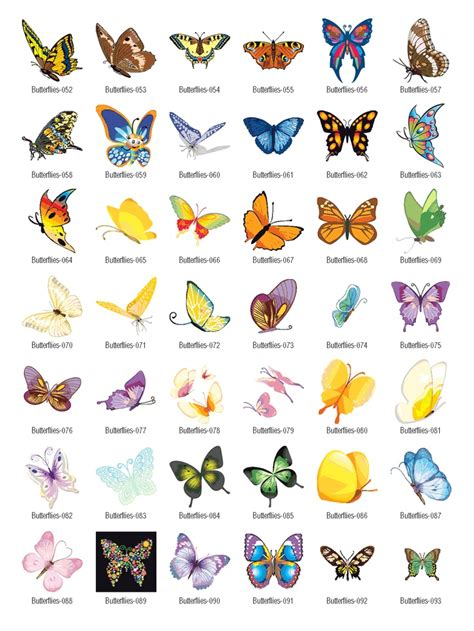 free downloadable clipart vector butterflies vector clipart free