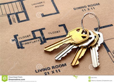 3d House Plans house keys on real estate housing floor plans royalty free