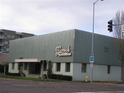 barrick funeral home salem oregon funeral homes on