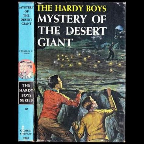 desert boys fiction books fiction franklin w dixon the hardy boys series no
