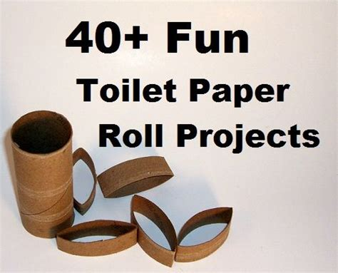 Crafts You Can Do With Toilet Paper Rolls - 40 toilet paper roll craft projects collection