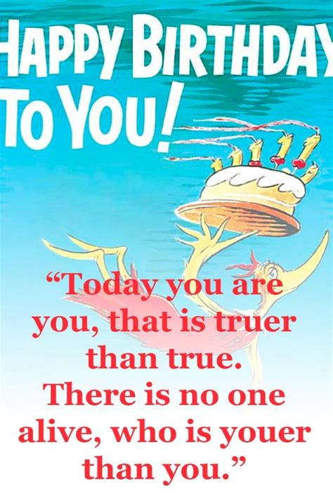 Dr Seuss Birthday Quotes Dr Suess Birthday Quote Dr Seuss Birthday Quotes