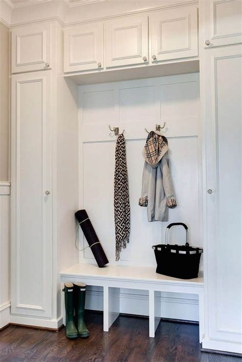 Delightful Small Space Storage Solutions #6: 31-mudroom-cabinets-for-storage.jpg