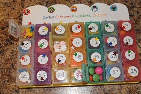make your calendar 2 make your own advent calendar with a monthly pill