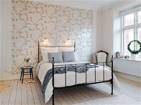 bedroom wallpaper ideas decorating bedroom wallpaper in soft colors for one wall decoration