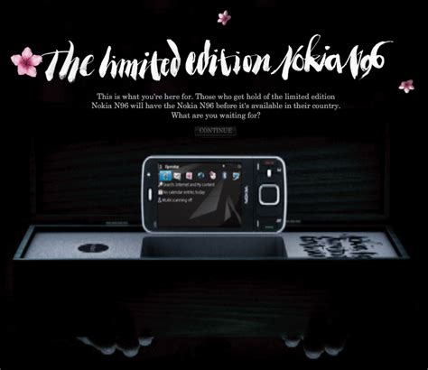 Style Limited Edition Of Nokia N96 by Nokia N96 Limited Edition Available For 1 200