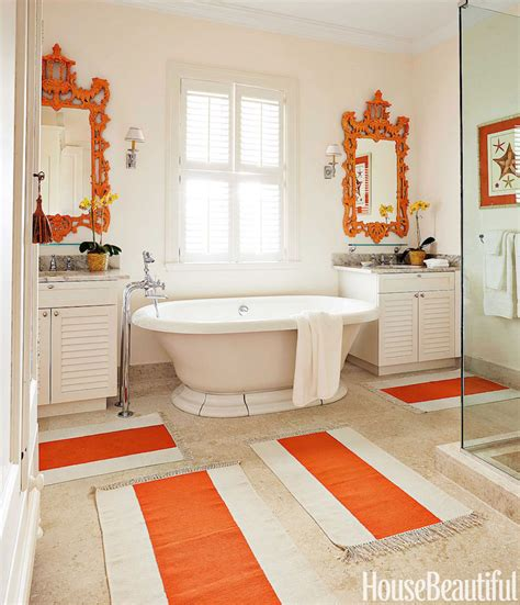 Colorful Bathroom Ideas | 25 colorful bathrooms to inspire you this weekend