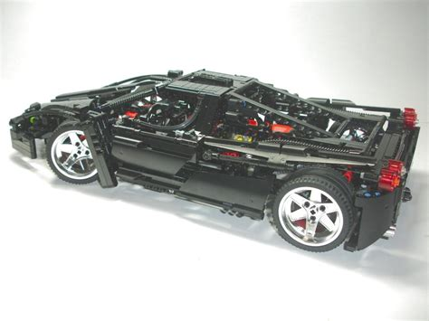 technic ferrari technic ferrari enzo 8653 custom black pictures