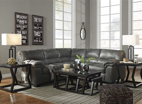 laf sofa rooms to go bladen slate 2 pc laf sofa sectional 12001 66 56