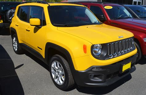 Jeep Yellow Paint Solar Yellow 2015 Renegade Paint Cross Reference