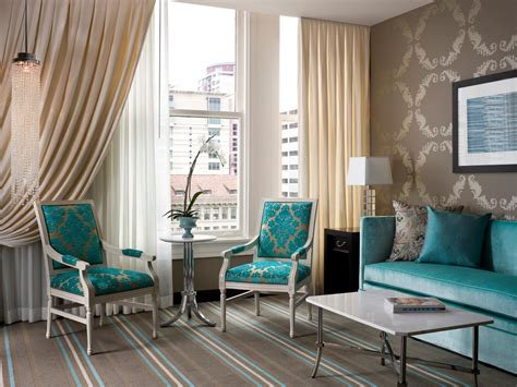 Turquoise Living Room Furniture Photos Hgtv