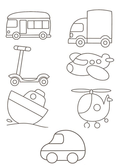 transportation clip clipart with car truck