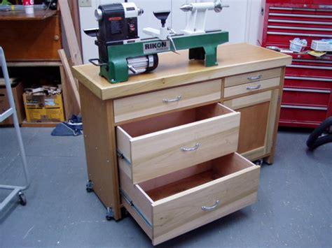 lathe stand  darell  lumberjockscom woodworking