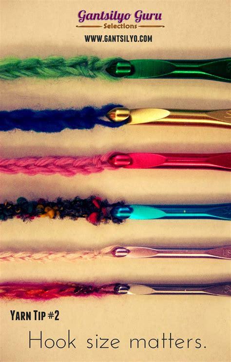how do pattern hooks work gantsilyo guru yarn tip 2 hook size matters