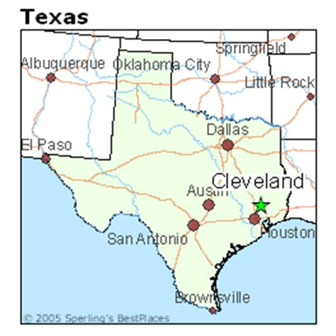 where is cleveland texas on a map best places to live in cleveland texas