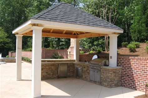 covered outdoor kitchen cost outdoor kitchen alpharetta ga photo gallery