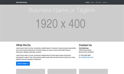 Templates Bootstrap Webmarket | business frontpage bootstrap 4 business home page