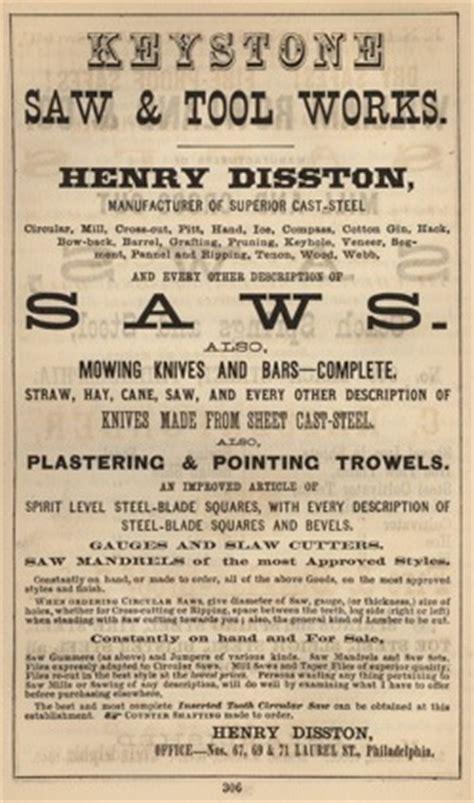 disston sons keystone  works
