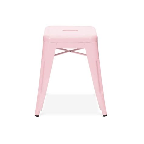 Light Pink Bar Stools by Tonic Low Stool Brickell Collection Modern Furniture Store