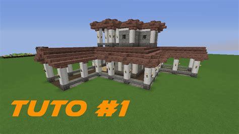 construire une maison minecraft 2701 fr tuto minecraft construire une villa romaine