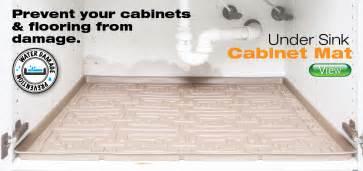 xtreme mats sink cabinet mats and water sensors