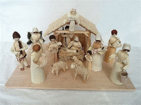 corn husk doll nativity set 1000 images about corn husk nativities and holy family